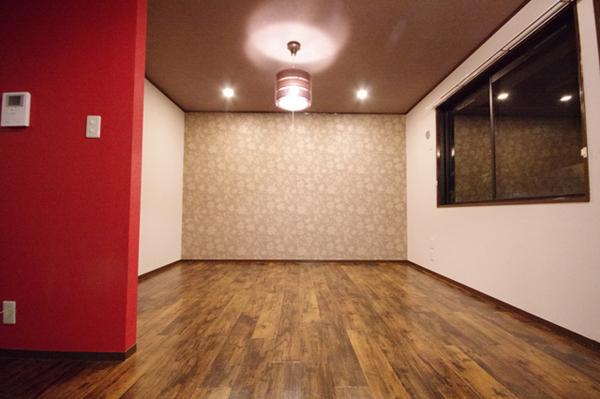 アジアの香り漂う部屋