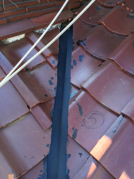 板金で雨漏り対策