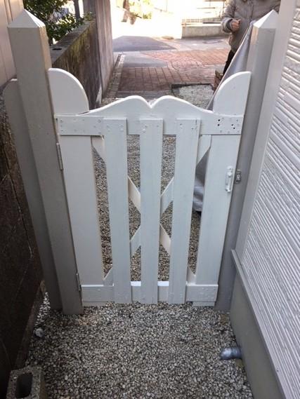 扉をリユース